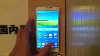 國內手機代購 SAMSUNG GALAXY S5 G900 影片介紹