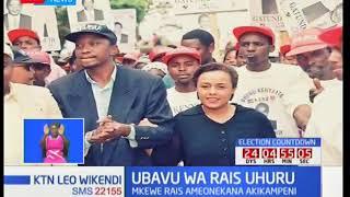 Ubavu wa rais: Mkewe Uhuru Kenyatta, Margaret ameonekana akikampeni