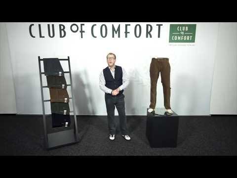 Club of Comfort | Sportive Flat Front-Cordhose, elastischer Komfortbund, weiches Gewebe | Kimmich