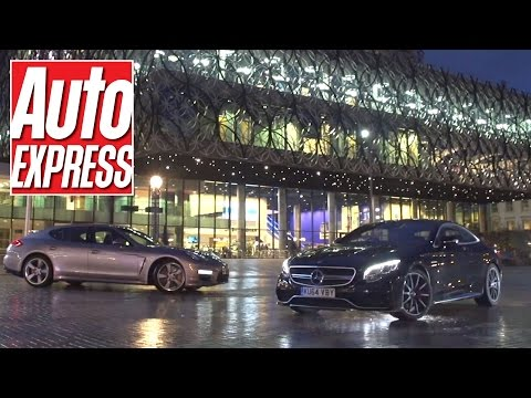 Mercedes S63 AMG Coupe vs Porsche Panamera Turbo S