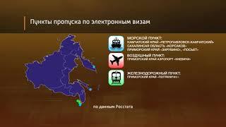 Минвосток рассказал, кто приезжает в Россию по электронной визе