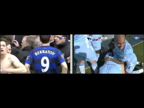 Man Utd vs Sunderland 1-0 And Man City Win The Premier League Title