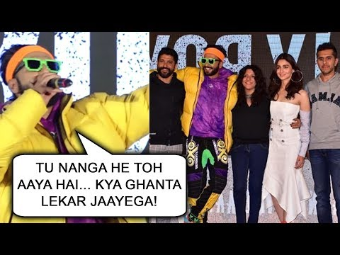 Ranveer Singh And Alia Bhatt Turn RAPPERS At Gully