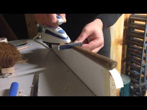 Meine kleine Holzwerksatt : Teil 7 - Umleimer auf Spanplatten