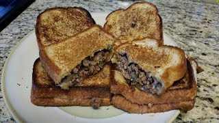 Ground Beef Philly Cheese Sandwiches