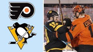 Flyers erase 3-1 deficit, win Stadium Series in OT | NHL | NBC Sports