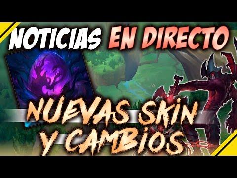 PBE Nuevas SKIN, REWORK y MÁS | Noticias EN DIRECTO LOL - League Of Legends