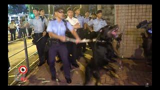 09AUG2019警察用警犬兇市民