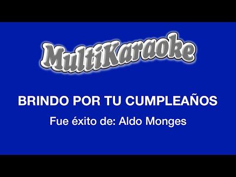 Brindo por tu cumpleaños Aldo Monges