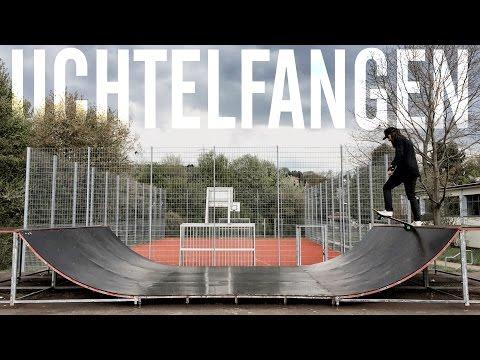 UE30 Skateboard Anfaenger zeigt euch  Skateplatz Uchtelfangen [eng subs]