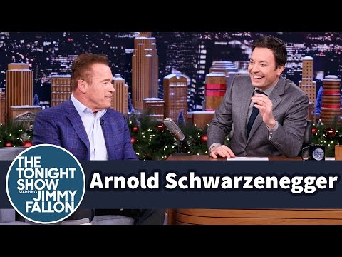 Jimmy Tries to Guess Arnold Schwarzenegger's Apprentice Catchphrase