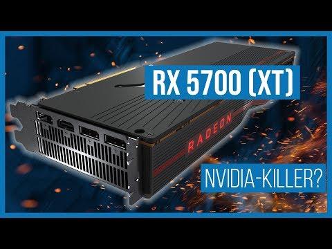 AMD Radeon RX 5700 (XT) im Test: Macht AMD NVIDIA nass?   Review   Gaming-Grafikkarten