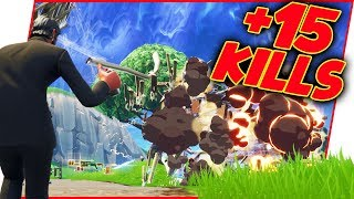 Little Brother Making BIG Plays LIVE On Stream! - Fortnite Gameplay