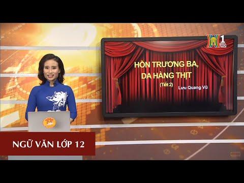 MÔN NGỮ VĂN - LỚP 12 | HỒN TRƯƠNG BA - DA HÀNG THỊT | 15H15 NGÀY 06.04.2020 | HANOITV