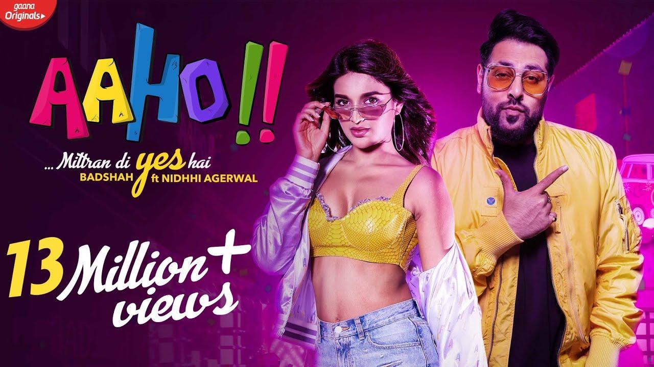 आहो मित्रां दी येस है - Aaho Mittran Di Yes Hai Lyrics in Hindi - Badshah