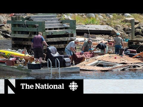 Recovery efforts underway in Nova Scotia after Dorian