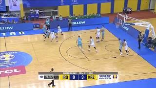 Лучшие моменты матча Ирак - Казахстан (Квалификация на Чемпионат Мира 2019)
