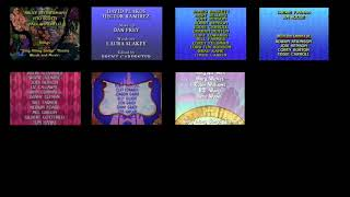 Disney Sing Along Songs Credits Comparison (Remix Version)