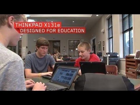 ThinkPad X131e Chromebook for Education