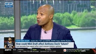 ESPN GET UP | Jay Williams DEBATE: Should Pelicans draft Zion and start season with Anthony Davis?