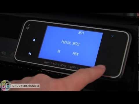 Reset und verstecktes Service-Menü beim HP Officejet Pro 8500