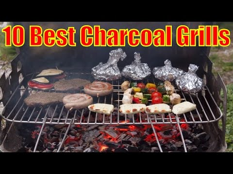 Best Charcoal Grills in 2017  #CharcoalGrills