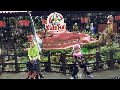 Video Bermain di Kids Fun Parcs Jogja