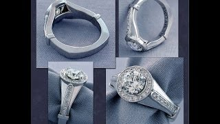 How jewelry is made: The making of a custom ring from start to finish.