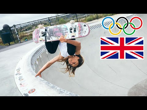 Can a 10 Year Old Skater SAVE THE OLYMPICS? | Sky Brown