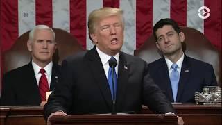Речь Дональда Трампа в Конгрессе США   30.01.18