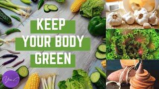 KEEP YOUR BODY GREEN with BROCCOLI, GARLIC, KALE & SWEET POTATO ✨ EAT WELL #26