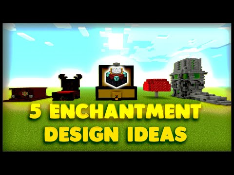 5 Enchantment Table Designs And Ideas Minecraft 9000 Special Minecraftvideos Tv