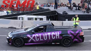 Cars Leaving SEMA Show - CRUISE TO IGNITED AFTERPARTY