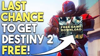 Last Chance to Get Destiny 2 FREE! More PC Games Getting Cross-Platform Play!