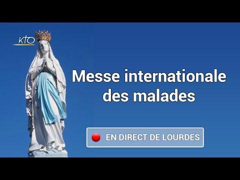 Messe Internationale à Lourdes-Journee des Malades 2020