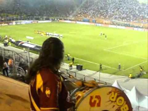 Humberto Boja en San Pablo alentando al Tolima