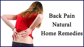 Back Pain - Ayurveda Herbs Natural Home Remedies