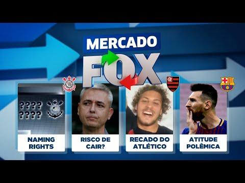 Fla e 'Novela Guga', Elias perto de voltar a SP, naming rights do Corinthians e Messi! Mercado FOX