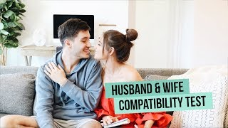 HUSBAND + WIFE COMPATIBILITY TEST | Jess & Gabriel Conte