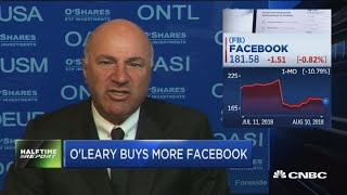 O'Leary buys more Facebook, here's why