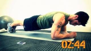 8 minute abs with Jamie Alderton by Grenade® TV