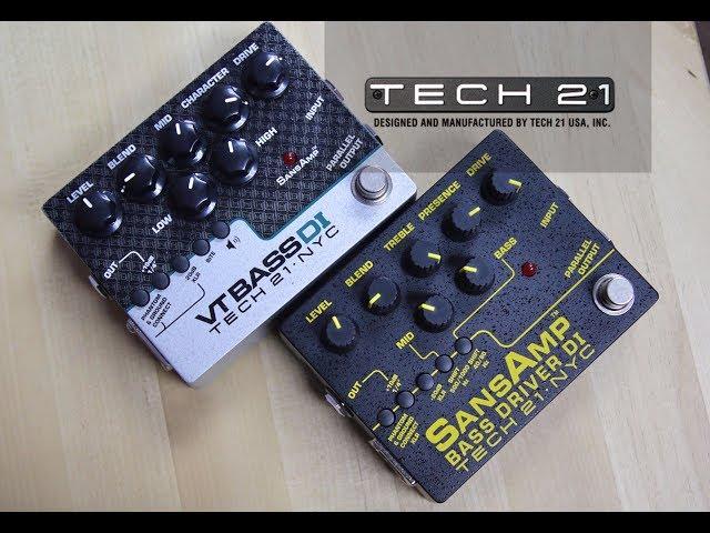 WHICH BASS DI? Tech 21 Bass Driver DI V2 vs VT Bass DI