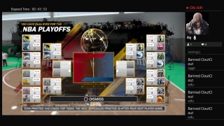KillerBizzle_UT Nba 2k18 Playoffs mode!!! Game 3 with Mathis_Corp UT