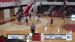 Maconaquah Girls Basketball vs Caston