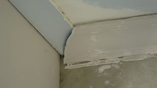 How To Repair Cornice With An Overlay