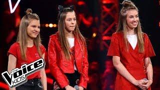 """Andryszczyk, Włodarczyk i  Bernaś – """"Attention"""" – Bitwy – The Voice Kids Poland"""