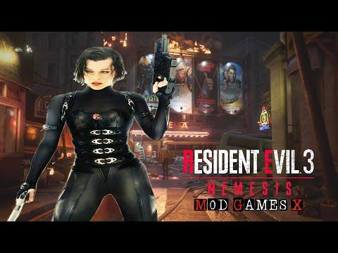 Resident Evil 3 RE Mods Alice - Resident Evil Movie Theme