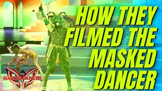 How They Filmed The MASKED DANCER