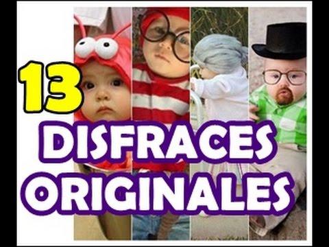 DISFRACES PARA BEBES CASEROS | Ideas Originales Carnaval