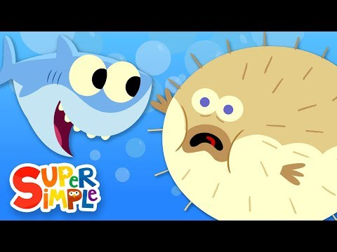 10 Little Fishies - Featuring Baby Shark!   Kids Songs   Super Simple Songs